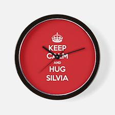 Hug Silvia Wall Clock