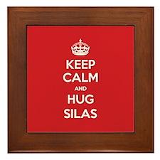 Hug Silas Framed Tile