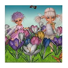 Spring Fae Tile Coaster