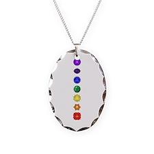 Chakras-7-Vert Necklace