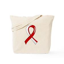 MDS Ribbon 3 Tote Bag