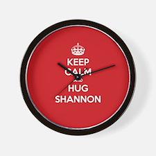 Hug Shannon Wall Clock