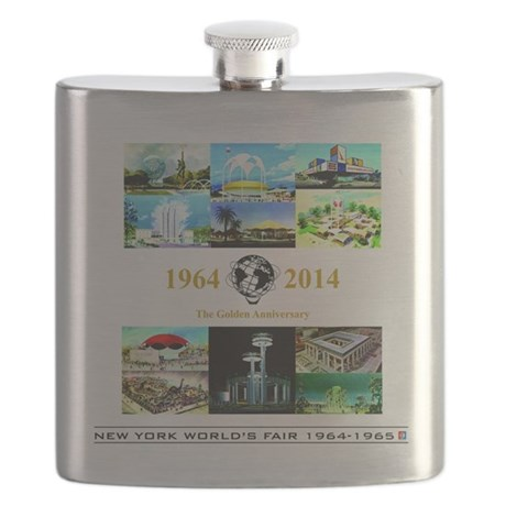 50th Anniversary Pavilions Flask