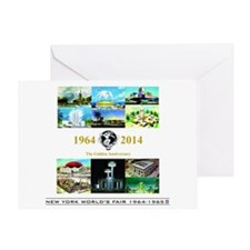 50th Anniversary Pavilions Greeting Cards