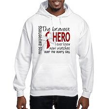 MDS Bravest Hero Hoodie