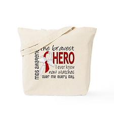 MDS Bravest Hero Tote Bag