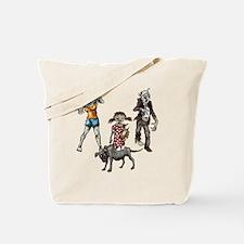 Zombie Family Tote Bag