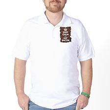 Keep Calm Eat Bacon T-Shirt
