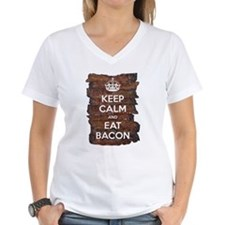 Keep Calm Eat Bacon Shirt