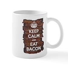 Keep Calm Eat Bacon Mug