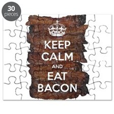 Keep Calm Eat Bacon Puzzle
