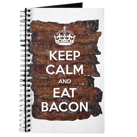 Keep Calm Eat Bacon Journal