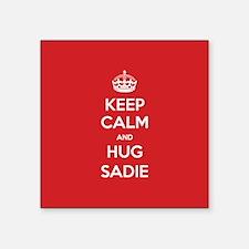 Hug Sadie Sticker