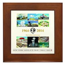 50th Anniversary Pavilions Framed Tile