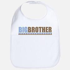 big brother brown/blue Bib