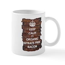 Keep Calm Organic Bacon Mug