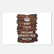 Keep Calm Organic Bacon Postcards (Package of 8)