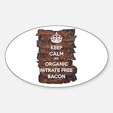 Keep Calm Organic Bacon Decal