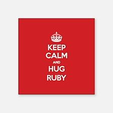 Hug Ruby Sticker