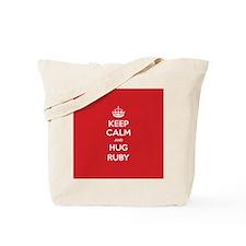 Hug Ruby Tote Bag