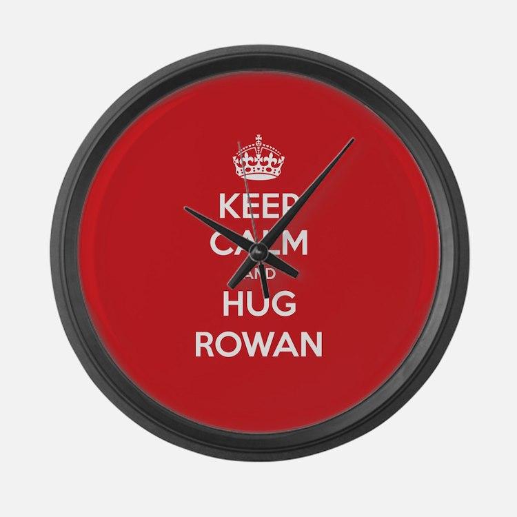 Hug Rowan Large Wall Clock