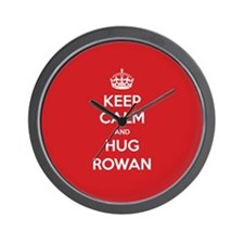 Hug Rowan Wall Clock