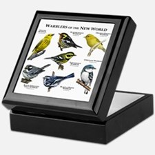 Warblers of the New World Keepsake Box