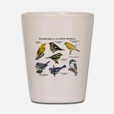 Warblers of the New World Shot Glass