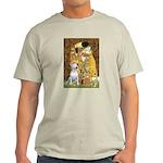 The Kiss & Bull Terrier Light T-Shirt