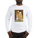 The Kiss & Bull Terrier Long Sleeve T-Shirt