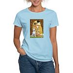 The Kiss & Bull Terrier Women's Light T-Shirt