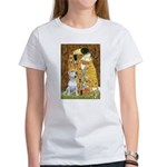 The Kiss & Bull Terrier Women's T-Shirt