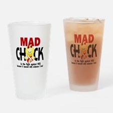 MDS Mad Chick 1 Drinking Glass