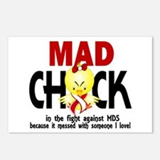 MDS Mad Chick 1 Postcards (Package of 8)