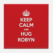 Hug Robyn Tile Coaster