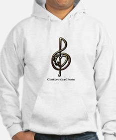 Treble Clef and Heart To Persona Hoodie