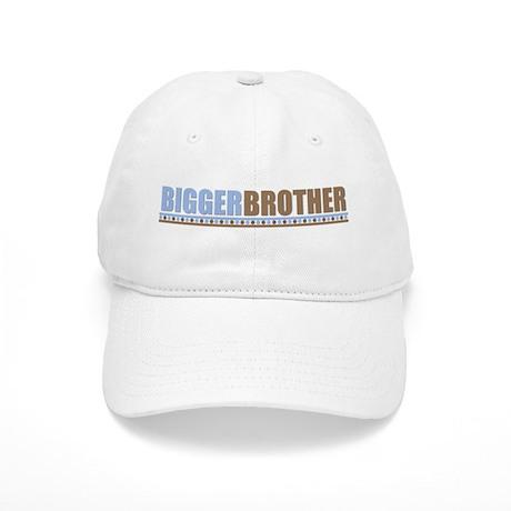 bigger brother brown blue Cap