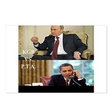 putin-obama Postcards (Package of 8)