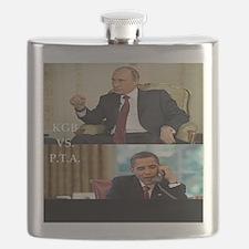 putin-obama Flask