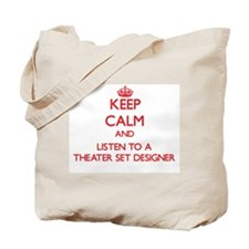 Keep Calm and Listen to a aater Set Designer Tote