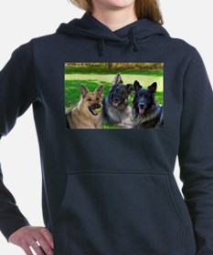 Happy Shiloh Shepherds Hooded Sweatshirt