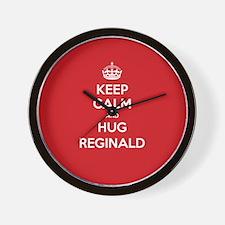 Hug Reginald Wall Clock
