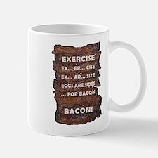 Exercise Bacon Mug