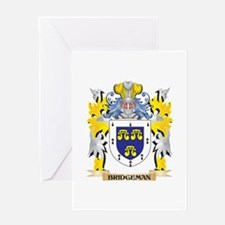 Bridgeman Coat of Arms - Family Cre Greeting Cards