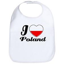 I love Poland Bib