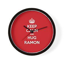 Hug Ramon Wall Clock