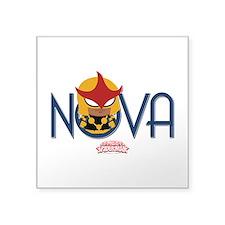 """Nova Mini Square Sticker 3"""" x 3"""""""
