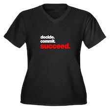 decide commit succeed Plus Size T-Shirt