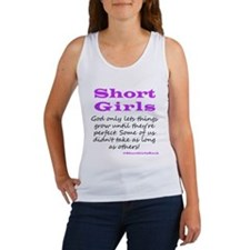 Short Girls (purple) Tank Top