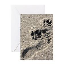 Buddy Prints Greeting Card